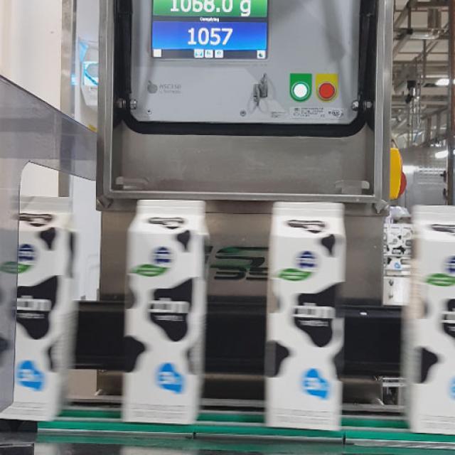 Купить чеквейер контроль веса пакетированного молока Украина Киев