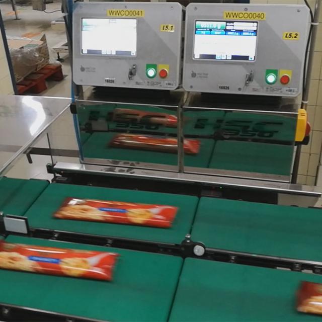 Купить чеквейер контроль веса упаковки спагетти Украина Киев